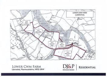 Thumbnail Land for sale in Welsh Newton, Monmouth