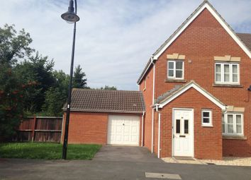 Thumbnail 3 bed semi-detached house to rent in Oaktree Place, St Georges, Weston Super Mare