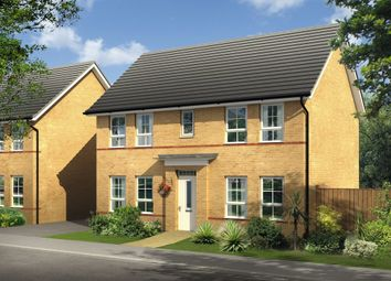 "Thumbnail 4 bed detached house for sale in ""Thornbury"" at Tregwilym Road, Rogerstone, Newport"