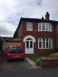 Thumbnail 3 bedroom semi-detached house to rent in Clumber Road, Manchester, Greater Manchester