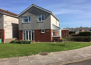 Thumbnail 4 bed detached house for sale in Channel Close, Rhoose, Barry