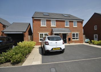 Thumbnail 2 bed semi-detached house to rent in Cae Babilon, Higher Kinnerton, Chester