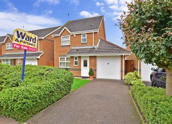 Thumbnail 3 bed detached house for sale in Eleanor Drive, Milton Regis, Sittingbourne, Kent