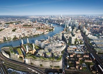 Thumbnail 3 bedroom flat for sale in Switch House West, Battersea Power Station, London