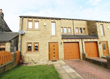 Thumbnail 3 bed semi-detached house for sale in High Street, Scapegoat Hill, Golcar