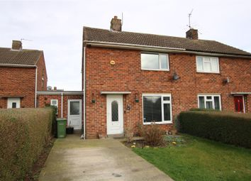 Thumbnail 2 bedroom semi-detached house for sale in Laughton Way, Lincoln