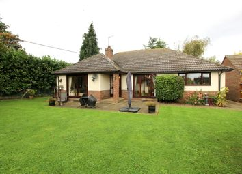 Thumbnail 3 bed detached bungalow for sale in Berners End, Barnston, Dunmow