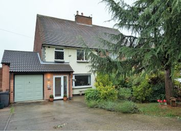 Thumbnail 3 bed semi-detached house for sale in Bird Hill Road, Woodhouse Eaves