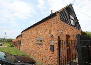 Thumbnail 2 bedroom barn conversion to rent in New Farm Drive, Abridge, Romford