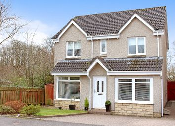 Thumbnail 4 bed detached house for sale in Montgomery Crescent, Dunblane, Dunblane