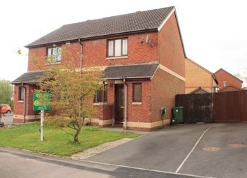 Thumbnail 2 bed semi-detached house for sale in Heol Y Barcud, Thornhill, Cardiff