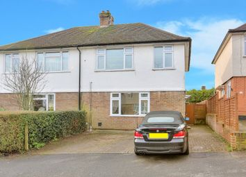 Thumbnail 3 bed property to rent in Hyde View Road, Harpenden