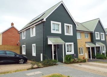 Thumbnail 3 bedroom end terrace house for sale in Walker Close, Church Crookham, Fleet