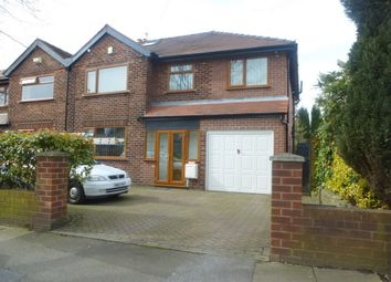 Thumbnail 4 bed semi-detached house for sale in Stockport Road, Denton