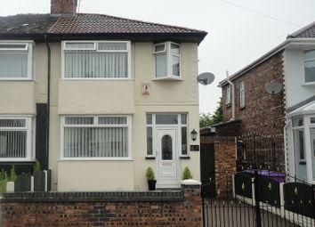 Thumbnail 3 bed semi-detached house for sale in Sherwyn Road, Walton, Liverpool