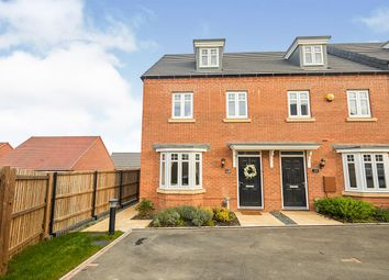 Thumbnail 3 bed end terrace house for sale in Rook Avenue, Burton-On-Trent, Staffordshire