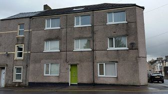Thumbnail 1 bed flat to rent in Trumpet Road, Workington