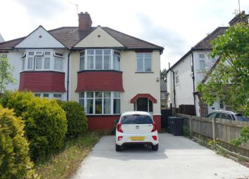 Thumbnail 3 bed semi-detached house to rent in Whytecliffe Road North, Purley