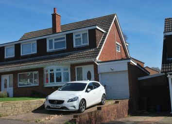 Thumbnail 3 bed semi-detached house to rent in Little Meadow, Exmouth