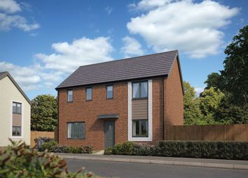 "Thumbnail 4 bed detached house for sale in ""The Clayton"" at Church Road, Old St. Mellons, Cardiff"