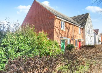 Thumbnail 2 bedroom end terrace house for sale in Pontins Walk, Kesgrave, Ipswich