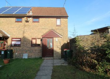 Thumbnail 1 bed semi-detached house for sale in Chevening Close, Crawley