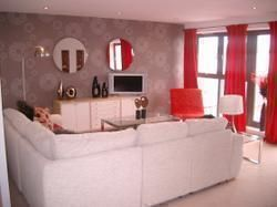 Thumbnail 2 bed flat to rent in Lochinvar Drive, Edinburgh