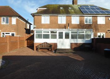 Thumbnail 1 bed semi-detached house to rent in Quinton Road West, Quinton, Birmingham