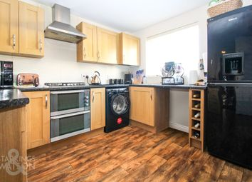 Thumbnail 4 bed town house for sale in Camelia Close, Hethersett, Norwich