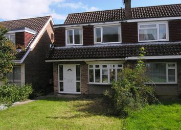 Thumbnail 3 bed semi-detached house to rent in Pinecroft, Whitchurch, Bristol