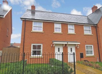 Thumbnail 3 bedroom end terrace house to rent in Planets Way, Biggleswade