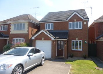 Thumbnail 3 bed detached house to rent in Burrows Close, Narborough, Leicester