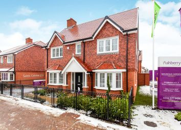 Thumbnail 4 bedroom detached house for sale in New Road, Hellingly, Hailsham