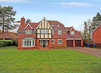 Thumbnail 5 bed detached house for sale in Franklin Drive, Stallington, Blythe Bridge, Stoke-On-Trent