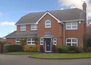 Thumbnail 4 bed detached house to rent in Browning Road, Church Crookham, Fleet