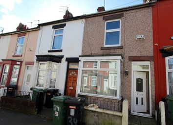 Thumbnail 2 bed terraced house to rent in Woodville Road, Birkenhead