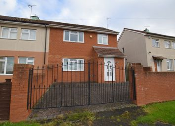 Thumbnail 3 bed semi-detached house for sale in Crome Road, Bristol, Somerset