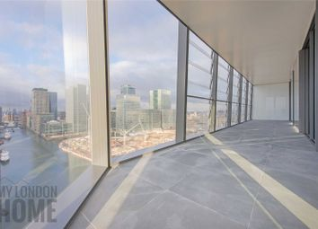 Thumbnail 3 bedroom flat for sale in Dollar Bay, 4 Lawn House Close, Canary Wharf, London
