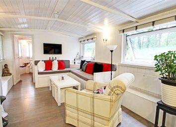 Thumbnail 2 bed houseboat for sale in Scotland Bridge Lock, New Haw, Surrey