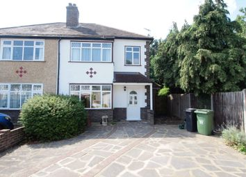 Thumbnail 3 bed semi-detached house for sale in First Avenue, Ewell, Surrey
