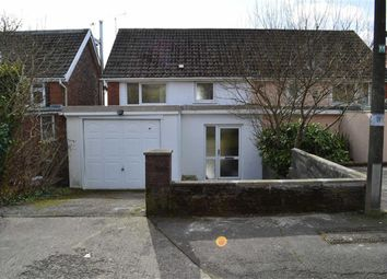 Thumbnail 3 bed semi-detached house for sale in Lon Masarn, Swansea