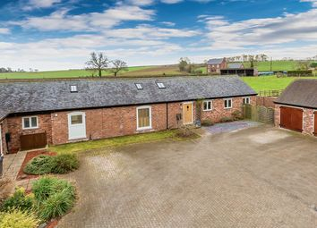 Thumbnail 3 bed detached bungalow for sale in Fairview Barn, Dove House Court, Chipnall, Cheswardine