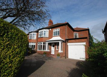Thumbnail 4 bedroom semi-detached house for sale in Kenton Road, Gosforth, Newcastle Upon Tyne
