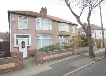 Thumbnail 3 bed semi-detached house for sale in Shrewsbury Avenue, Waterloo, Liverpool