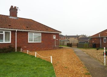 Thumbnail 1 bed bungalow to rent in Lincoln Close, Hingham, Norwich