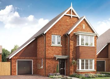 Thumbnail 4 bed detached house for sale in St Georges Road, Badshot Lea, Farnham, Surrey