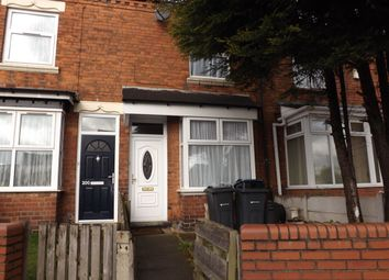 Thumbnail 2 bed terraced house for sale in Bacchus Road, Hockley, Birmingham