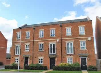 Thumbnail 3 bed town house for sale in Racecourse Road, Newbury