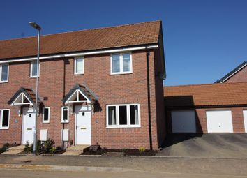 Thumbnail 3 bedroom end terrace house for sale in Malone Avenue, Swindon