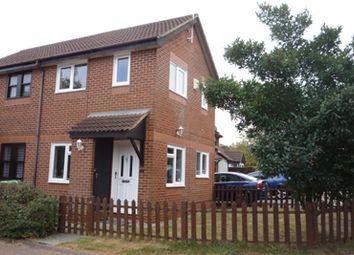 Thumbnail 1 bedroom terraced house to rent in Boxberry Gardens, Milton Keynes